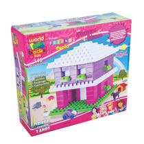 Casa Das Princesas Friends 146 Peças Grandes E Coloridas