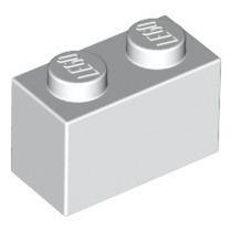Bloco (brick) 1x2 Branco - Lote De 30 Peças Lego Novo