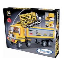 Cidade Em Obras - Caminhão - Xalingo - 174 Peças