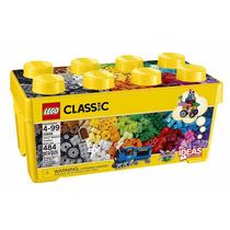 Lego 10696 - Caixa Média De Peças Criativas - 484 Pcs C/ Nf
