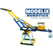 Brinquedo De Montar Modelix 506 Mobil 6 Guindaste Mecânico