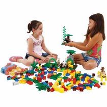 Jogo Blocos De Montar Brinquedo Educativo 1000 Pçs Tipo Lego
