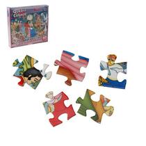 Quebra Cabeça Da Cinderela 60 Peças Brinquedo Infantil