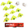 Lego Kit Ninjago Airjitzu 10 Screamers + Aranhas Moro 70736