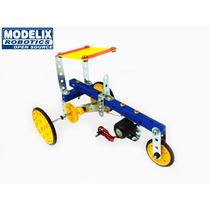 Brinquedo De Montar Modelix 224 Starter 4 Motorização Trator