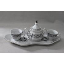 Jogo De Café Ou Chá Para Dois, Fine Porcellana Belle Époque,