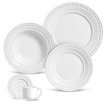 Aparelho De Jantar 30 Peças Atenas Branco - Frete Grátis
