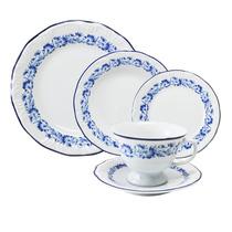 Aparelho De Jantar Solteiro Edite Schmidt Porcelana Branca 5