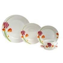 Aparelho De Jantar Porcelana - Casaambiente