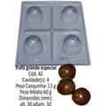Forma De Chocolate Para Trufas ( 5 Forma Com 3 Partes Cada )