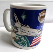 Caneca Nasa Spaceport Usa Com O Nome Ricardo