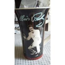 Linda Caneca Em Porcelana Elvis Presley