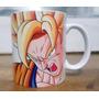 Caneca Anime Mangá Dragon Ball Porcel Personalizada Presente