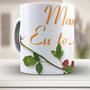 Caneca Mamãe Eu Te Amo - 547 - Xicara - Mãe - Porcelana