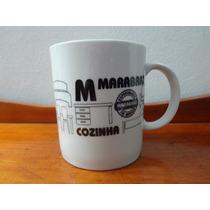 Caneca Porcelana Lojas Marabraz