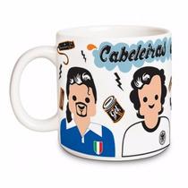 Caneca/xicara De Vidro Capuccino E Chocolate 400 Ml + Brinde