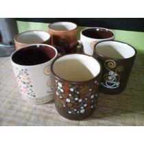 Lindo Jogo Com 6 Xícaras De Café