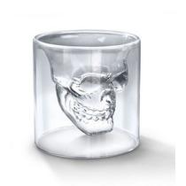 Copo Cranio De Caveira -double Size - Grande - Doomed -200ml