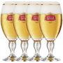 4 Cálice Taça Copo Stella Artois 250ml Cerveja+ Caixa+ Nota