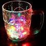 Copo Caneca Pisca Com Luz Led Light-up Drinkware Beer 350ml
