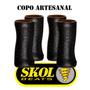 Copo Artesanal De Vidro Skol Beats Extreme 300ml - 4 Unid.