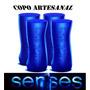 Copo Artesanal De Vidro Skol Sense 300ml - 4 Unidades