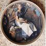 Prato Em Porcelana De Norman Rockwell