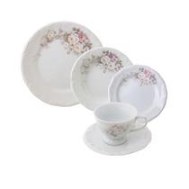Aparelho De Jantar Eterna Schmidt Porcelana 30 Peças