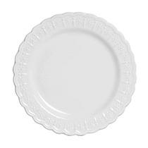 Conjunto De Pratos Raso Scalla Nobre Branco