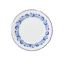 Prato De Sobremesa Edite Schmidt Porcelana Branca Ø19cm