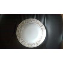 06 Pratos De Jantar Em Porcelana Nobre- Steatita