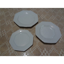 Jogo Jantar 18 Peças Porcelana Schmidt Prisma Branco