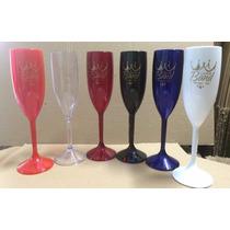 100 Taças De Champagne Personalizadas De 190ml