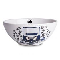 Bowl Robo Cereal Retrô Tijela Salada Robocop Sopa