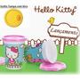 Tupperware: 1 Copinho Infantil Hello Kitty 200ml