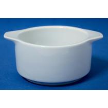 Cumbuca Em Porcelana Branca - 175ml - 6 Unidades - (m975)