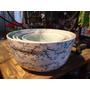 Conjunto De 5 Bowls Tigelas De Porcelana Pintadas A Mão