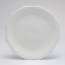Travessa De Porcelana, Bolo, Doces, Wolff Alto Relevo 25089