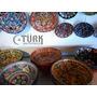 Tigela De Cerâmica Turca 30cm