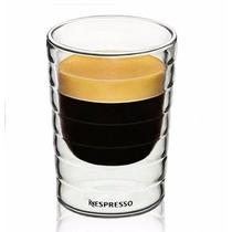 Xicara Vidro Duplo Nespresso Copo Feito A Mao Para Café 85ml