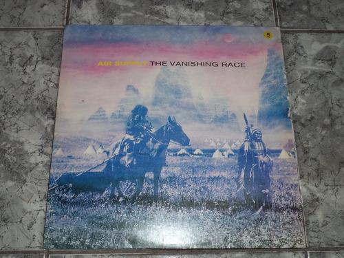Lp Air Supply The Vanishing Race-1993 ( Com Enc )