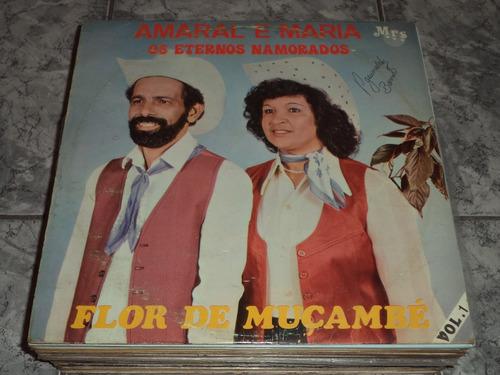 Lp Amaral E Maria Os Eternos Namorados - For Muçamee