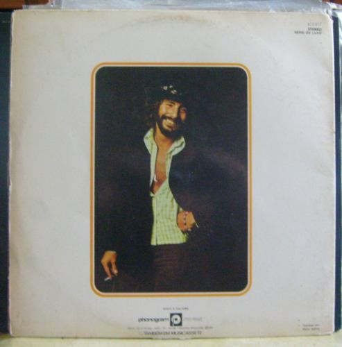Lp Cat Stevens - Catch Bull At Four - Capa Álbum.