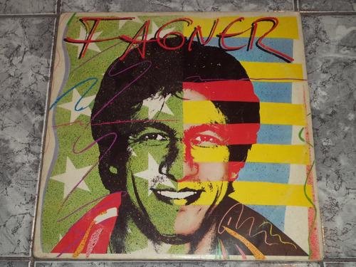 Lp Fagner - Qualquer Música - 1982 ( Com Encarte )