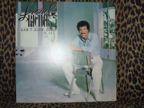 Lp - Lionel Richie - Cant Slow Down