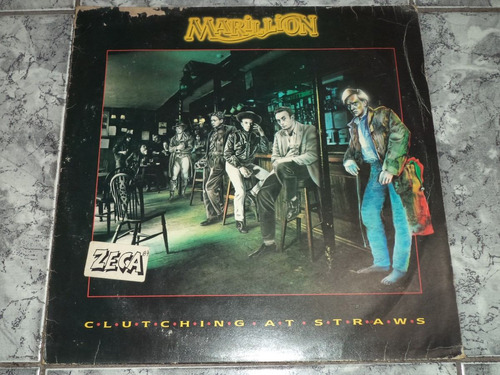 Lp Marillion Clutching At Straws 1987 Vinil C/ Encarte