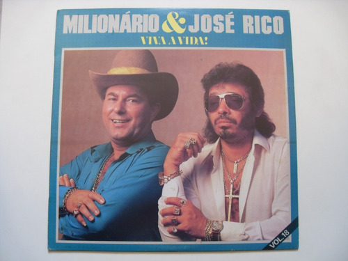 Lp Milionário & José Rico - Viva A Vida