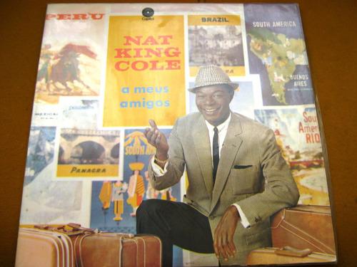 Lp Nat King Cole A Meus Amigos Trio Irakitan Silvia Telles 4