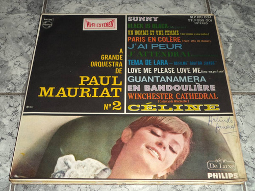 Lp Paul Mauriat A Grande Orquestra Nº2 Philips 1967