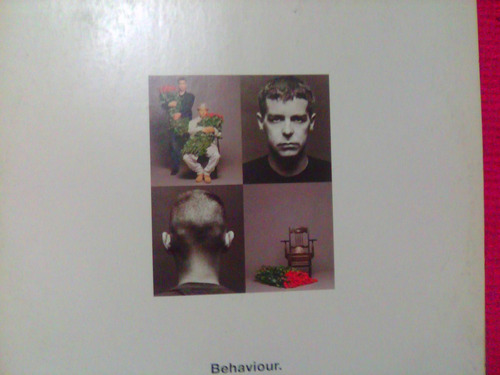 Lp Pet Shop Boys Behaviour